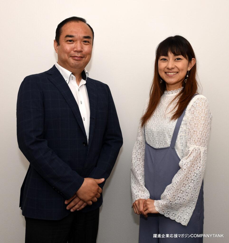 石黒彩さんとインタビュー