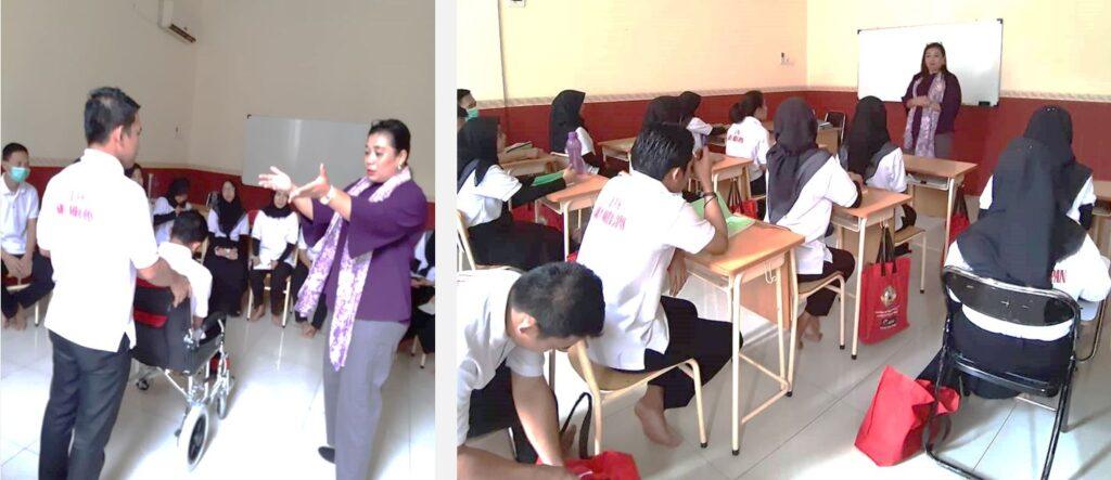 特定技能 介護人材教育 授業風景